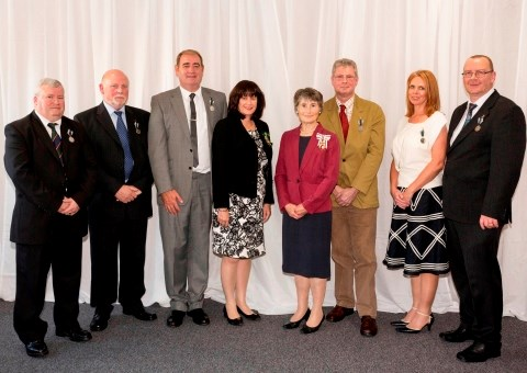 Frontline ambulance employees honoured with Queen's Medal